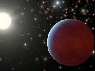 Alien Planet Beehive Cluster