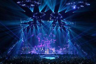 A.C.T Lighting at Ariana Grande Tour