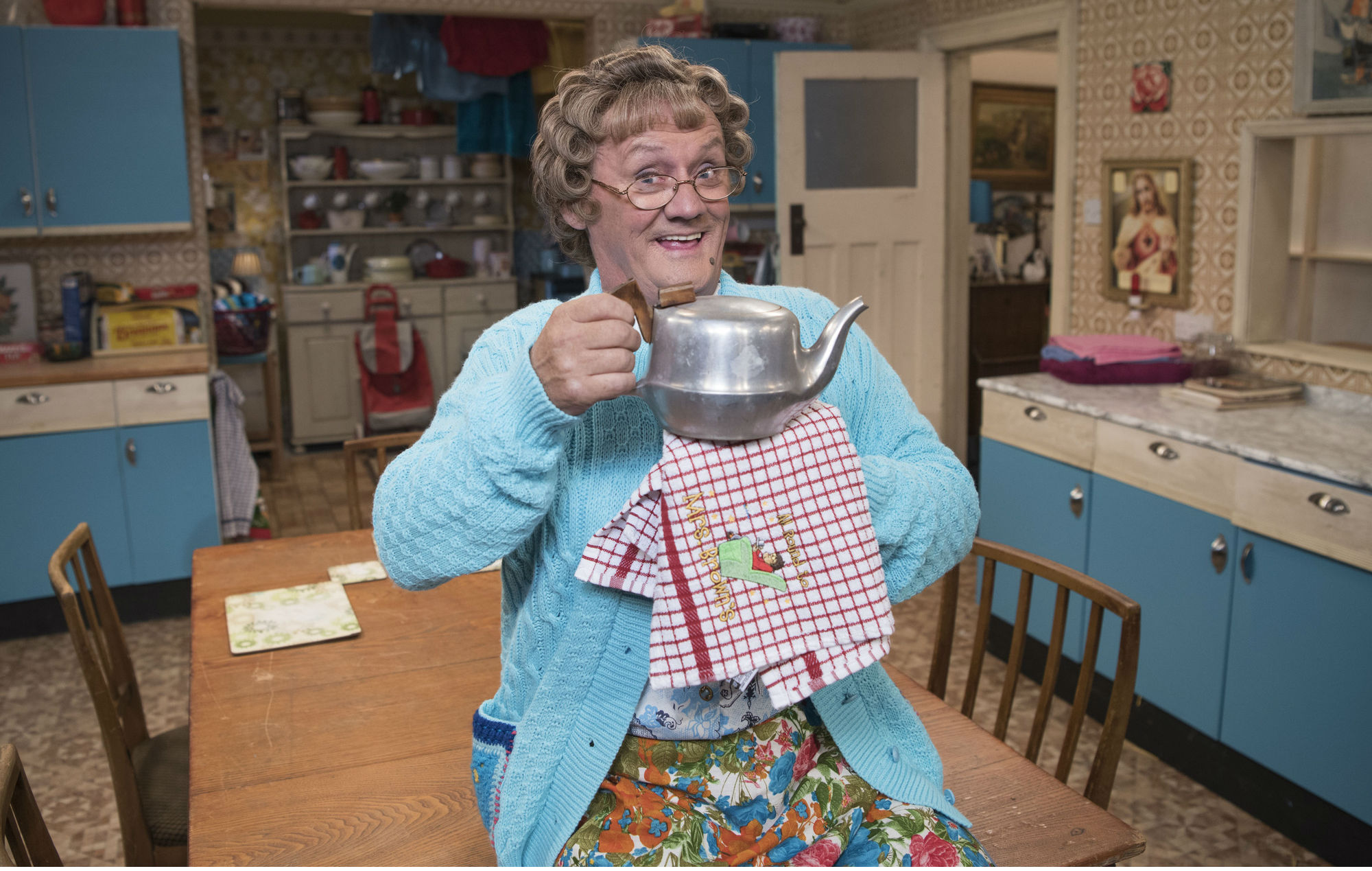 mrs brown, ross kemp