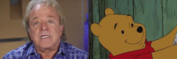 Jim Cummings and Winnie the Pooh