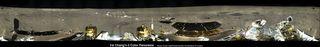 Chang'e-3, Yutu Rover Landing Site Panorama