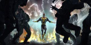Official Dwayne Johnson as Black Adam concept Art