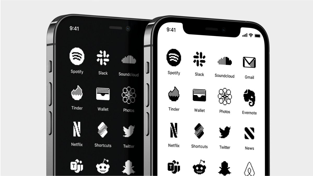 These delightful iOS icons will turn your iPhone into a retro Mac