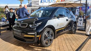 BMW i3 Urban Space concept car at CES 2020 exterior