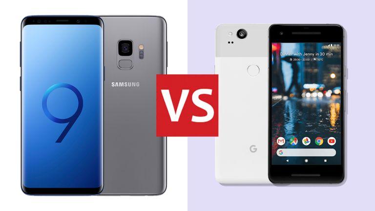 Samsung Galaxy S9 vs Google Pixel 2