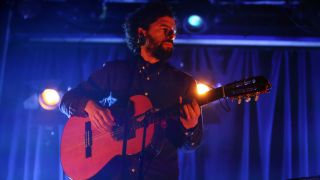 Jose Gonzalez performs on stage at Scala on March 11, 2015 in London, United Kingdom