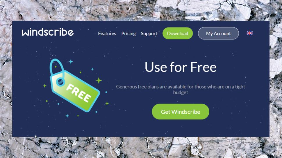 Windscribe Free Plan