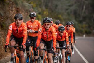 Rally Cycling at the team's training camp in Castellon de la Plana, Spain