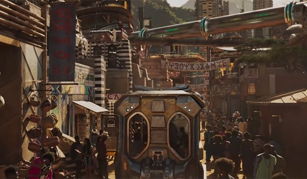 The Golden City in Wakanda