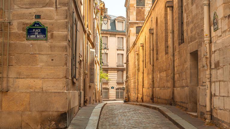 Riviera Travel deal, paris cobbled street
