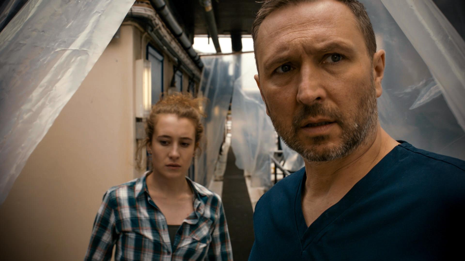 Alex Walkinshaw plays Adrian 'Fletch' Fletcher in Holby City