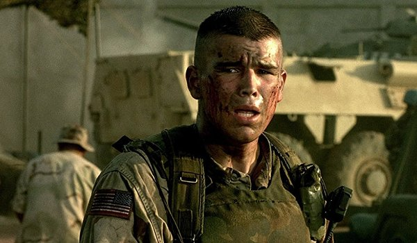 Black Hawk Down Josh Hartnett exhausted