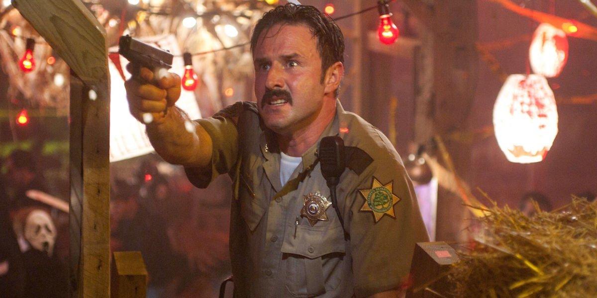 David Arquette as Dewey Riley in Scream