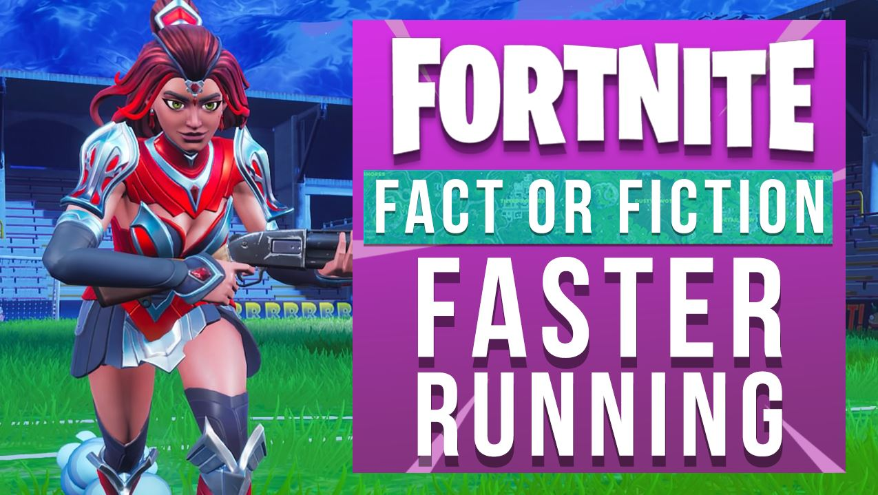 Can you run faster in Fortnite? Let's settle this once and for all