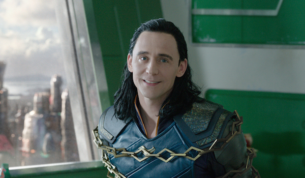 Tom Hiddleston is Loki