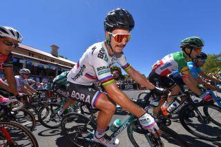 Bora-Hansgrohe's Peter Sagan enjoys the sunshine at the 2019 Tour Down Under