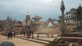 Patan after the earthquake