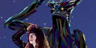 Nacho Vigalando Colossal poster anne hathaway and monster