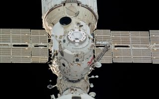 The Russian Pirs module, seen here, has been attached to the International Space Station since 2001 and is scheduled to be de-orbited on July 24, 2021.