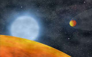 Alien Planets Red Giant