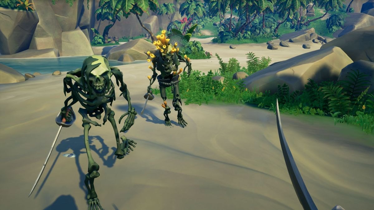 Sea Of Thieves Shroudbreaker How To Complete Sea Of Thieves Tall Tale For The Mysterious Stranger Gamesradar