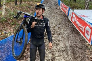 Heinrich Haussler (Bahrain Victorious) at the X2O Trofee in Herentals on December 23, 2020