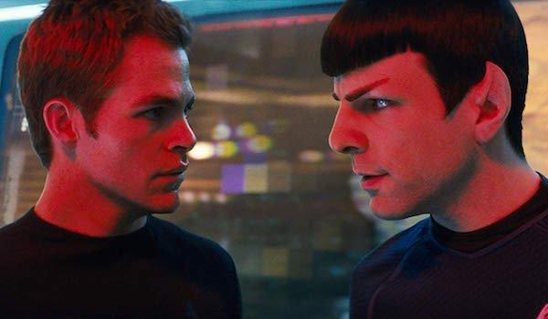 James T. Kirk and Spock in Star Trek