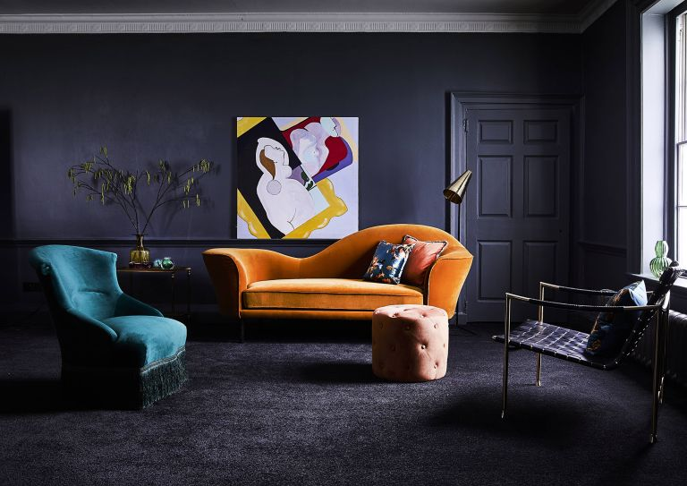 Black Living Room 7 Ideas For A Cosy