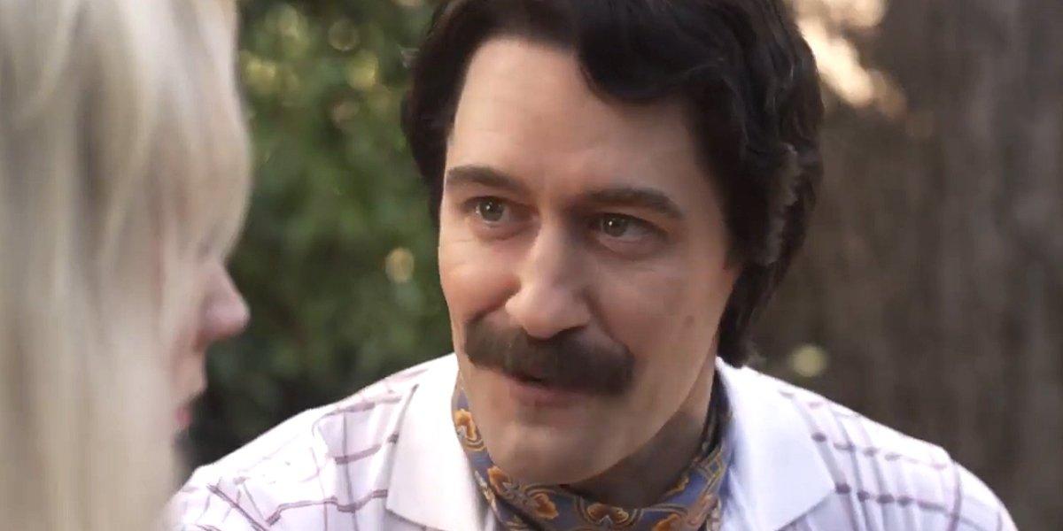 Matthew Morrison American Horror Story: 1984 Trevor talks to Montana FX