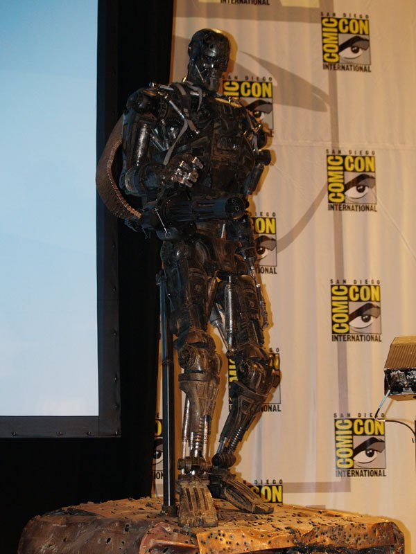 Comic Con In Photos: Terminator Salvation's T-600 #110