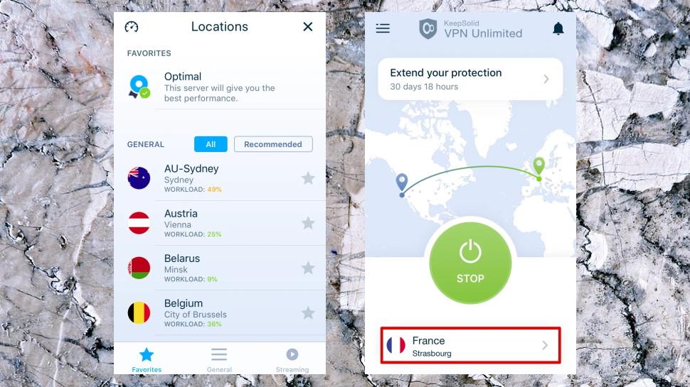 VPN Unlimited iOS App