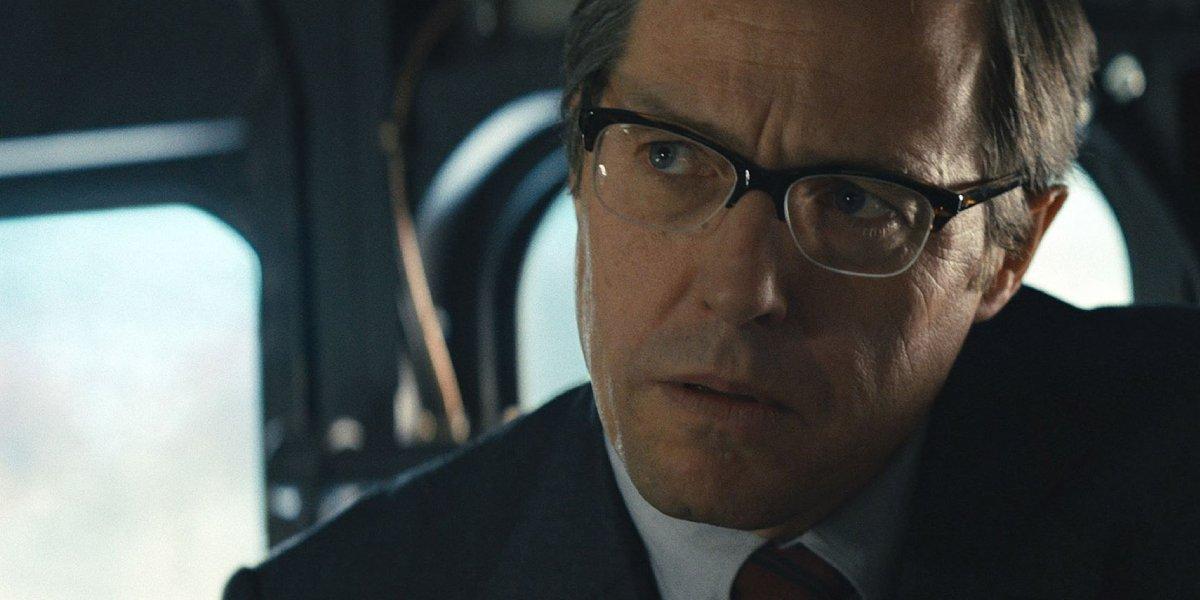 Hugh Grant in The Man From U.N.C.L.E