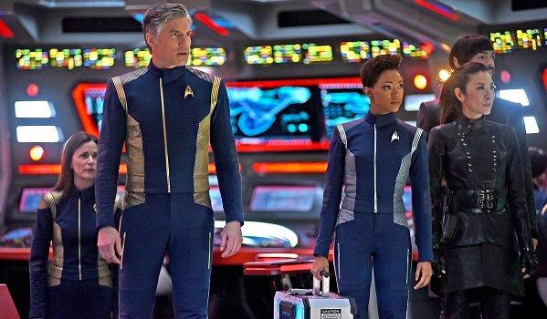 Star Trek: Discovery cast cbs all access