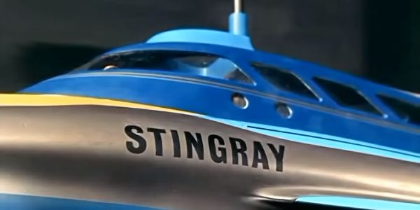 Stingray boat from opening credits