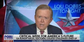 Former Fox Business personality Lou Dobbs