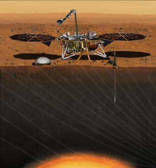 Mars InSight: Artist's Illustration