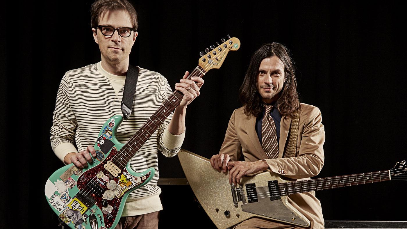 Rig Tour Weezer Musicradar