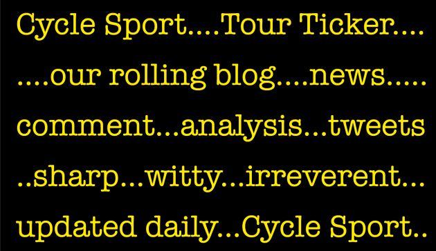 Tour Ticker