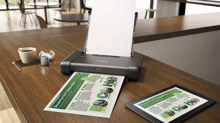 Best portable printers: Canon Pixma iP110 portable printer