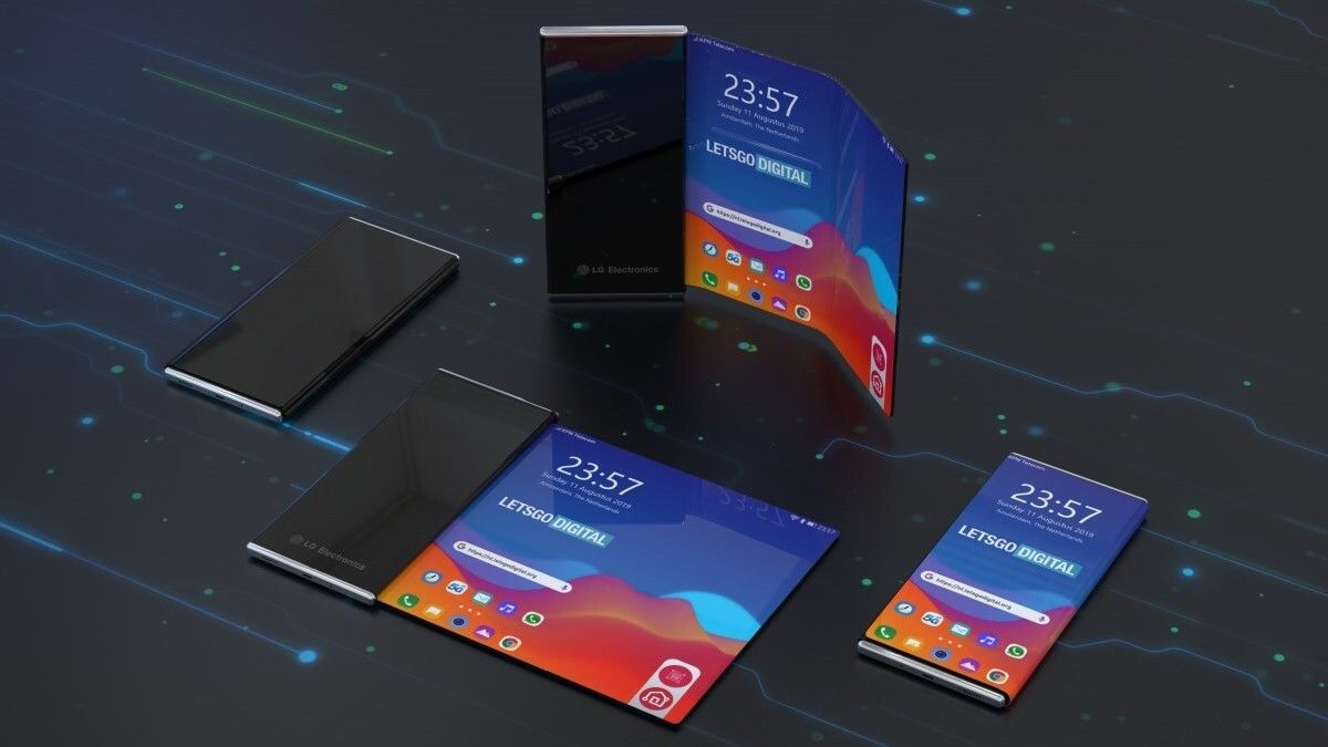 LG rollable phone should be ready to tangle with the Galaxy Z Flip