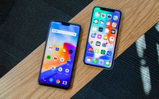 newest 2fa0c 969a0 OnePlus 6 vs. iPhone X: Can the Flagship Killer Steal Apple's Crown ...