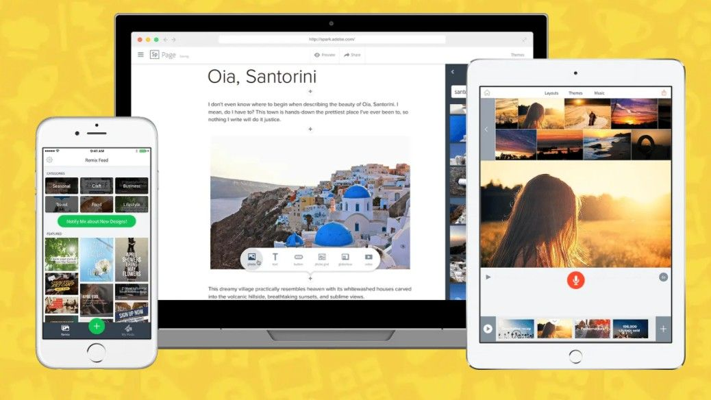 Download Adobe Spark for free: get the starter and premium versions of Adobe Spark without paying a penny