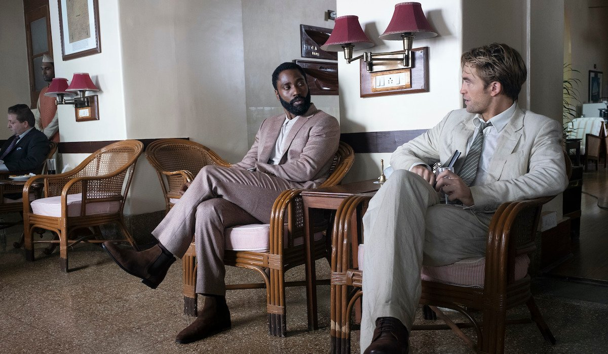 John David Washington and Robert Pattinson in Tenet