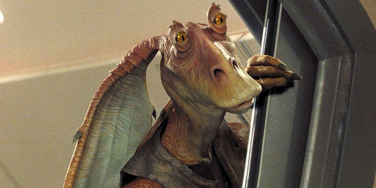 Star Wars' Liam Neeson Defends Jar Jar Banks Actor