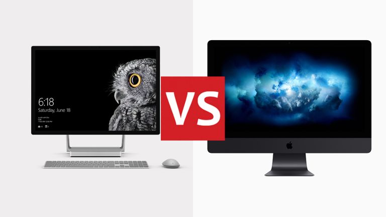 iMac Pro vs Microsoft Surface Studio