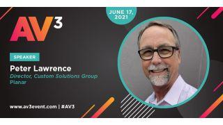 Peter Lawrence, AV3 speaker