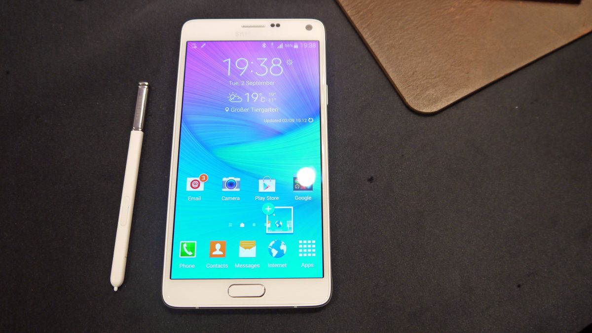 samsung galaxy note 4 release amazon opens up pre orders. Black Bedroom Furniture Sets. Home Design Ideas
