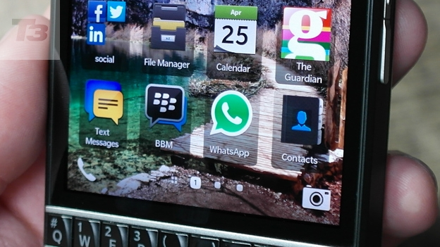 Whatsapp launches on BlackBerry Q10 ahead of UK release | T3
