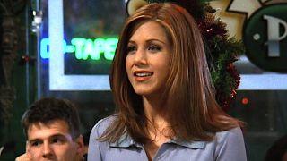 Jennifer Aniston as Rachel Green in Friends.