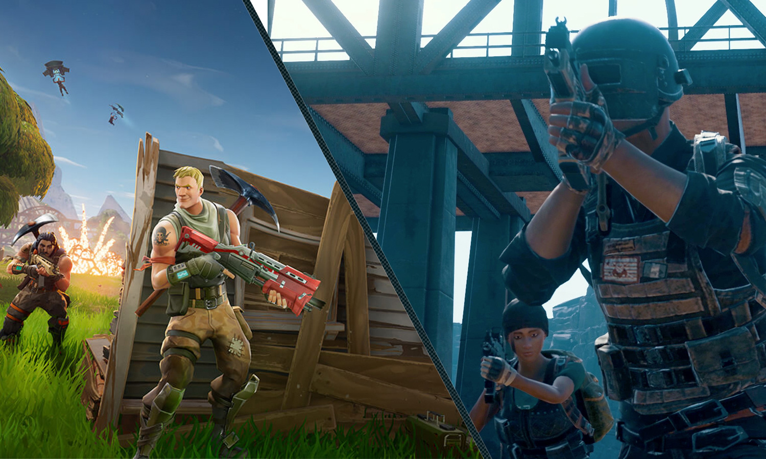 PUBG vs  Fortnite: Which Battle Royale Shooter Is For You